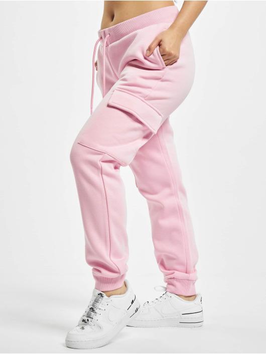 Urban Classics Jogginghose Ladies Cargo rosa