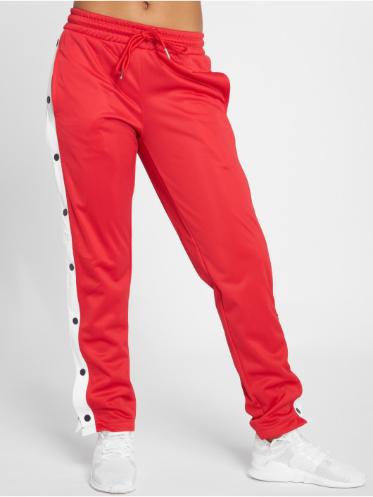 Urban Classics Jogginghose Button Up rot