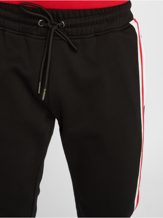 Urban Classics Jogginghose 3-Tone Side Stripe Terry schwarz