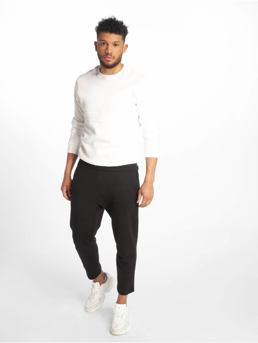 Urban Classics Jogginghose Cropped Terry schwarz