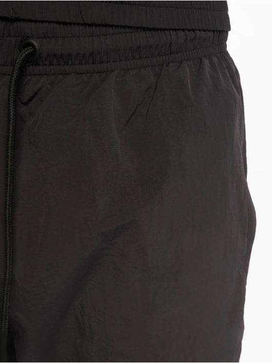 Urban Classics Jogginghose 3-Tone Crinkle schwarz