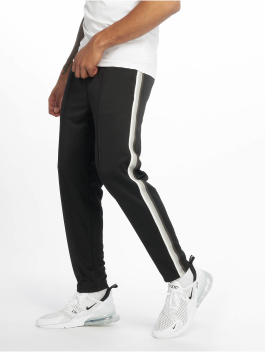 Urban Classics Jogginghose Side Taped schwarz