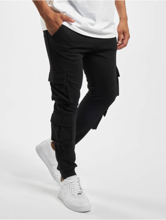 Urban Classics Jogginghose Double Pocket Terry schwarz