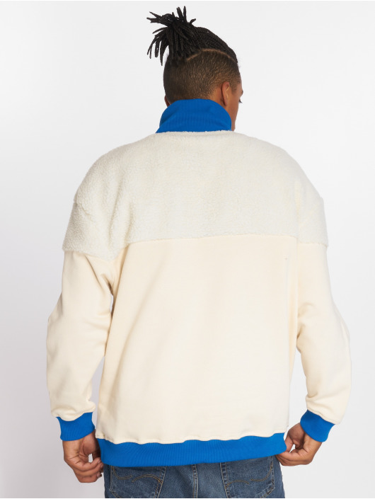 Urban Classics Jumper Oversize Sherpa Troyer beige