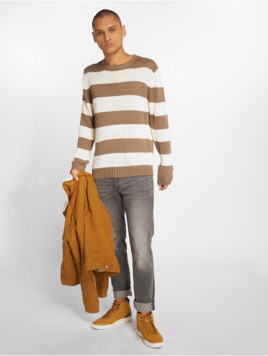 Urban Classics Jumper Striped beige