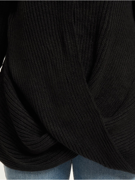 Urban Classics Jumper Wrapped black