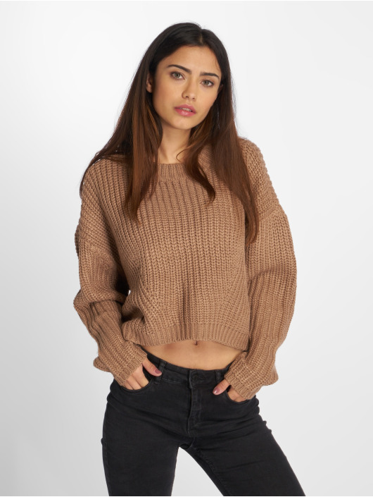 Urban Classics Jumper Wide Oversize brown