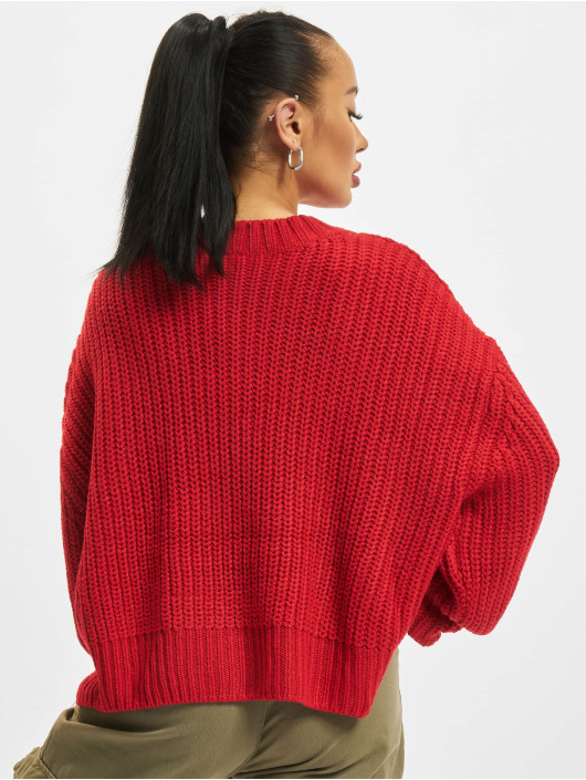 Urban Classics Jumper Wide Oversize red