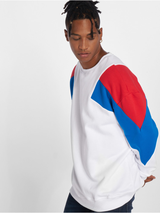 Urban Classics Jumper Oversize 3-Tone white