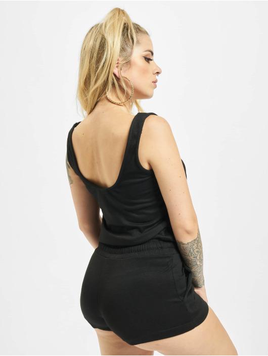 Urban Classics Jumpsuit Ladies Melange Hot schwarz
