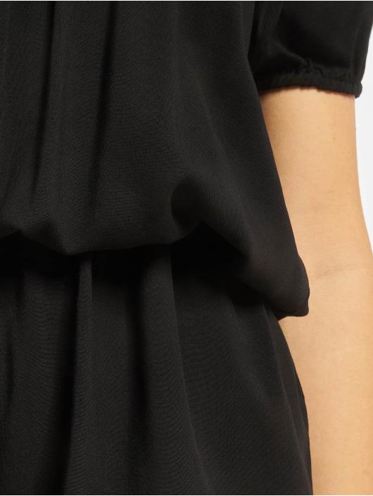 Urban Classics Jumpsuit Off Shoulder schwarz