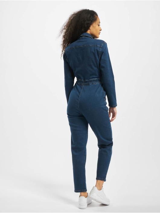 Urban Classics Jumpsuits Ladies Boiler blå