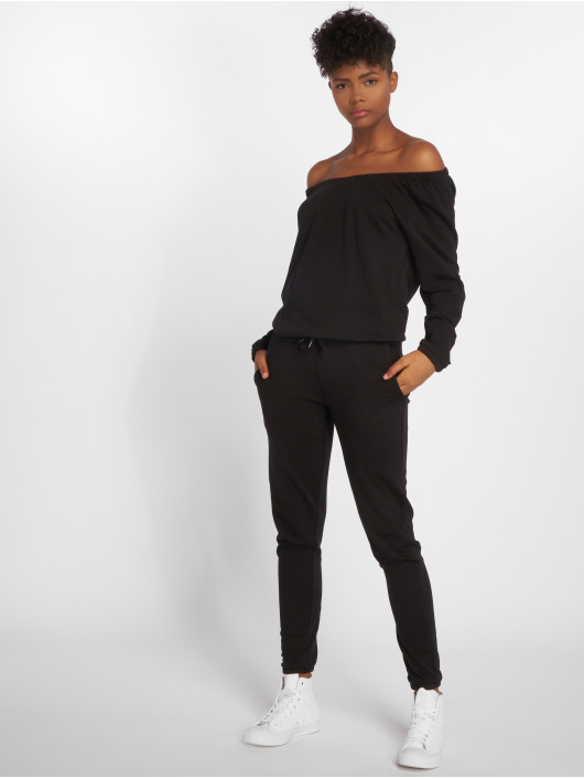 Urban Classics Jumpsuits Terry czarny