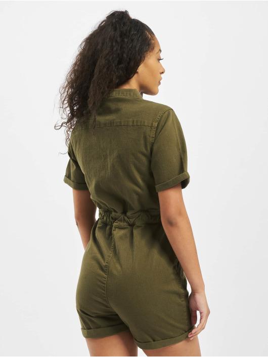 Urban Classics Jumpsuits Ladies Short Boiler Hot oliven