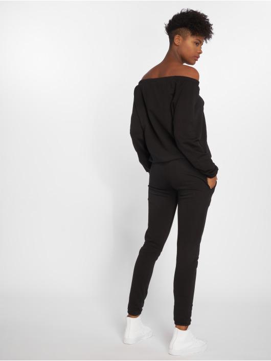 Urban Classics Jumpsuits Terry svart