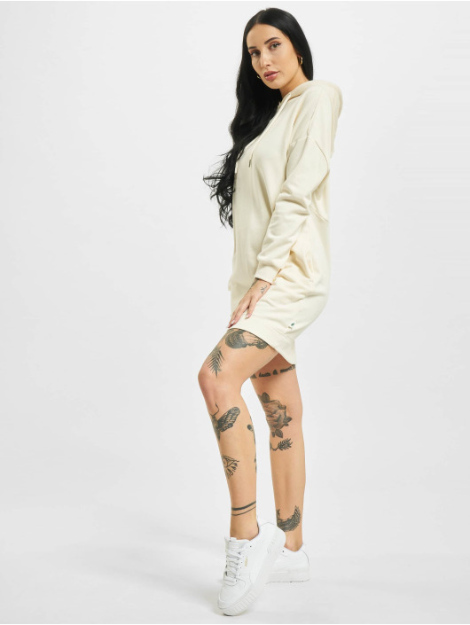 Urban Classics jurk Ladies Organic Oversized Terry beige