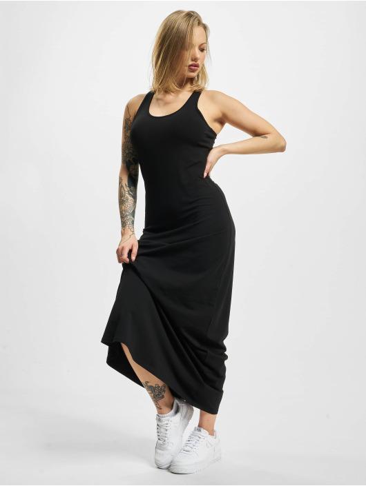Urban Classics jurk Long Racer Back zwart