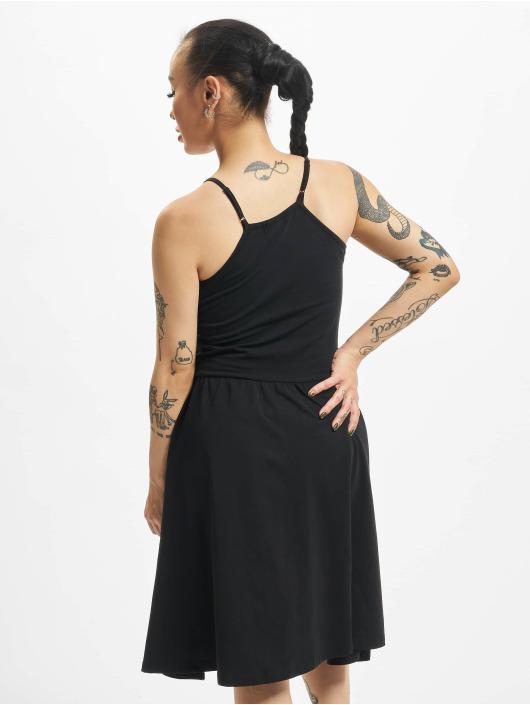 Urban Classics jurk Spaghetti zwart