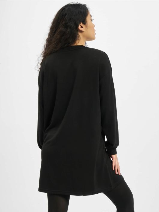 Urban Classics jurk Ladies Modal Terry zwart