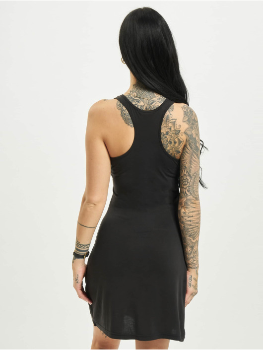 Urban Classics jurk Modal Short Racer Back zwart
