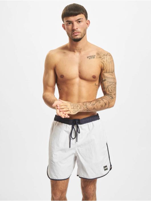 Urban Classics Kúpacie šortky Retro Swim biela