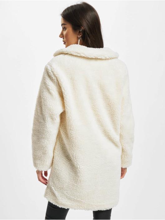 Urban Classics Kabáty Ladies Oversized bílý