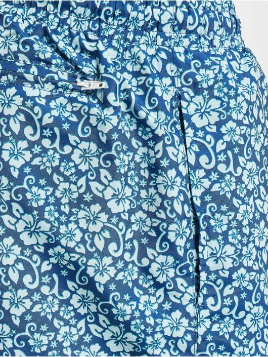 Urban Classics Kąpielówki Floral niebieski