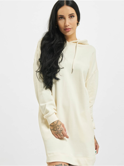 Urban Classics Kleid Ladies Organic Oversized Terry beige