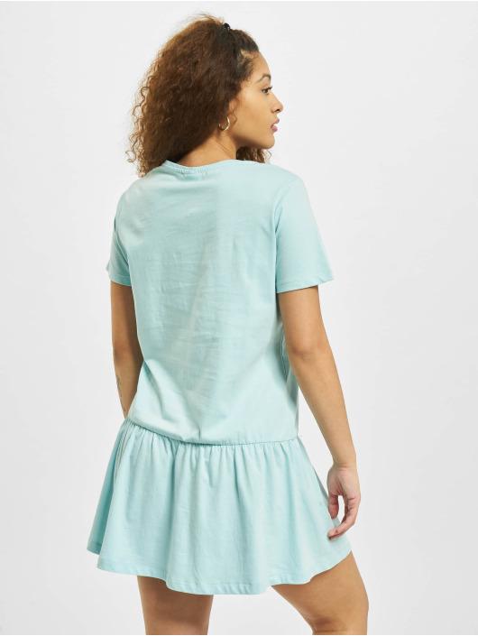 Urban Classics Kleid Valance blau