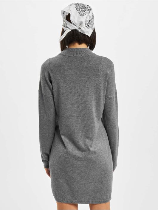 Urban Classics Kleid Oversized Turtleneck grau