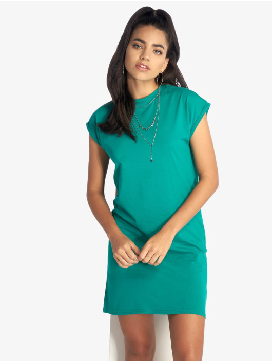 Urban Classics Kleid Turtle Extended Shoulder grün