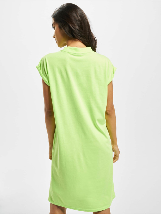 Urban Classics Kleid Turtle Extended Shoulder grün