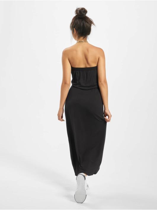 Urban Classics Kleid Ladies Viscose Bandeau schwarz