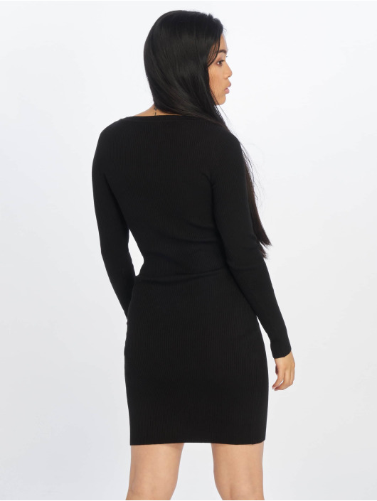 Urban Classics Kleid Cut Out schwarz