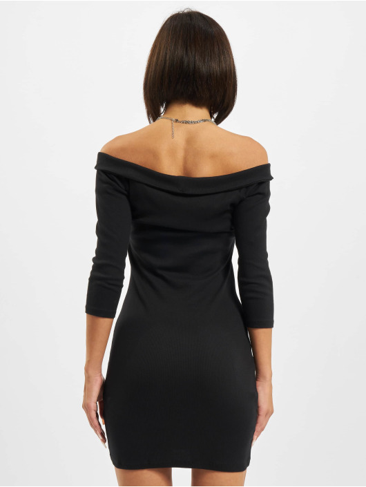 Urban Classics Kleid Off Shoulder schwarz