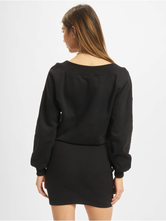 Urban Classics Kleid Off Shoulder schwarz