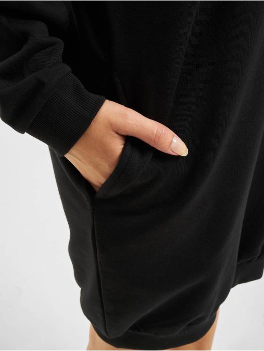 Urban Classics Kleid Sweat Eyelet schwarz