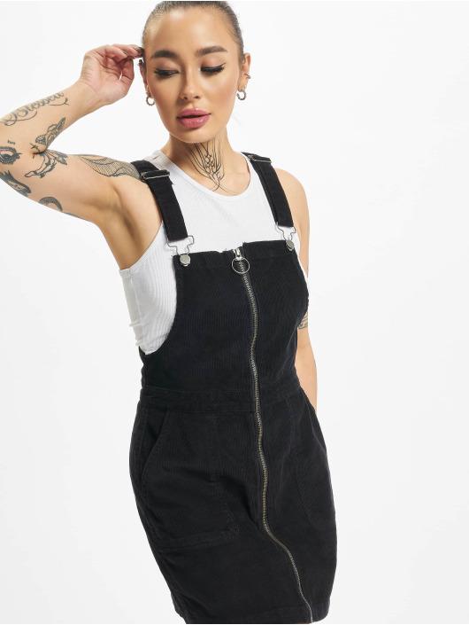 Urban Classics Kleid Corduroy Dungaree schwarz