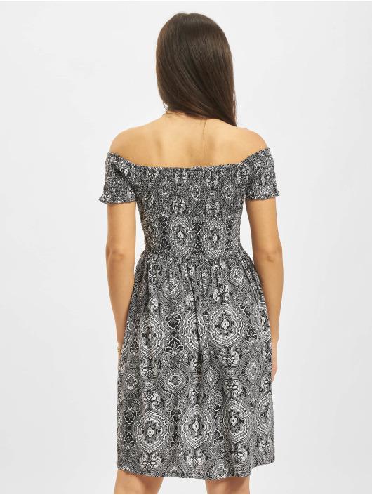Urban Classics Kleid Smoked Off schwarz