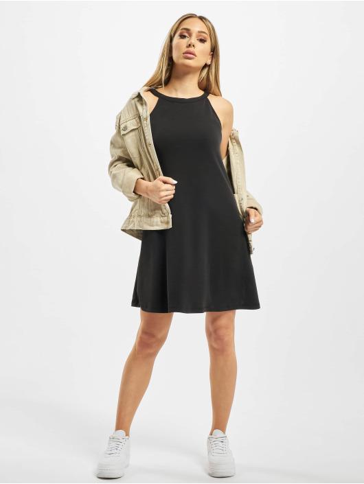 Urban Classics Kleid Ladies Soft Interlock Loose schwarz