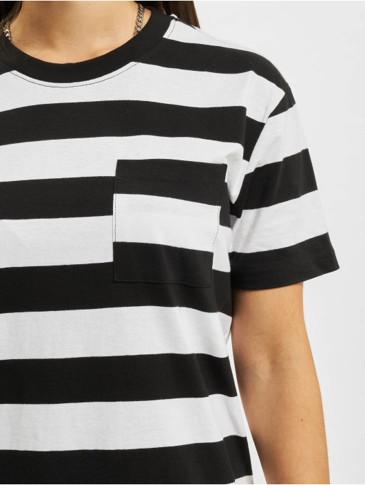 Urban Classics Kleid Stripe Boxy schwarz
