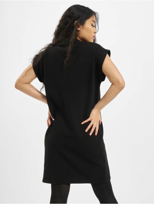 Urban Classics Kleid Ladies Naps Terry Extended Shoulder schwarz
