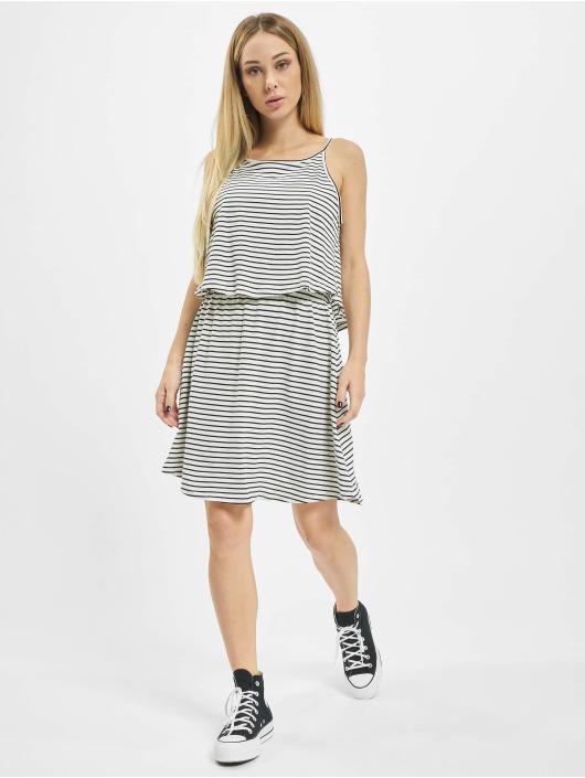 Urban Classics Kleid 2-Layer Spaghetti weiß