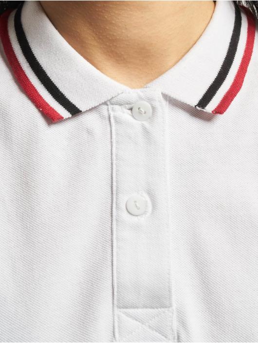 Urban Classics Kleid Polo weiß