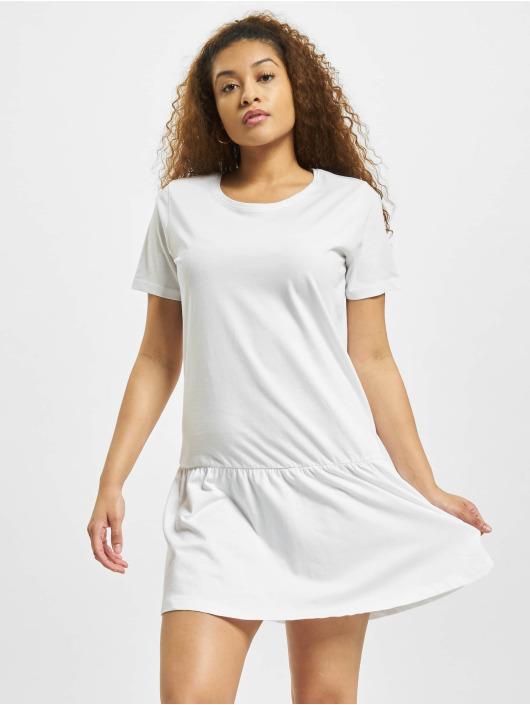 Urban Classics Kleid Valance weiß