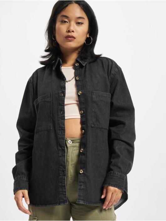 Urban Classics Košile Oversized Blouse čern