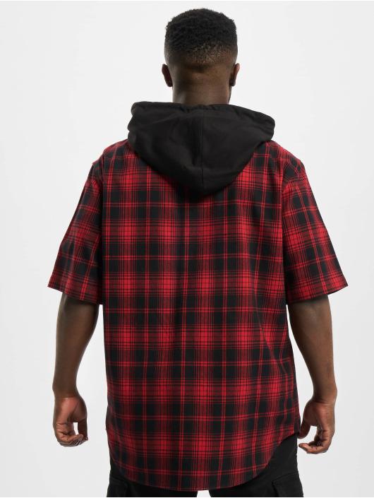 Urban Classics Koszule Hooded czarny