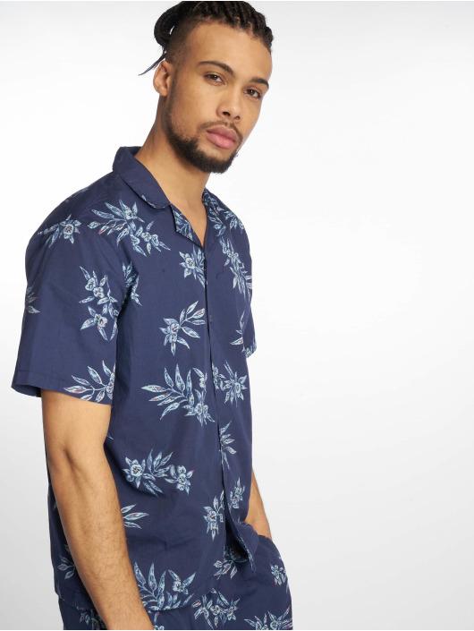Urban Classics Koszule Pattern Resort niebieski