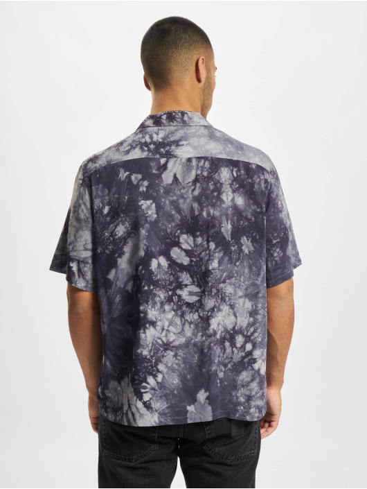 Urban Classics Koszule Tye Dye niebieski