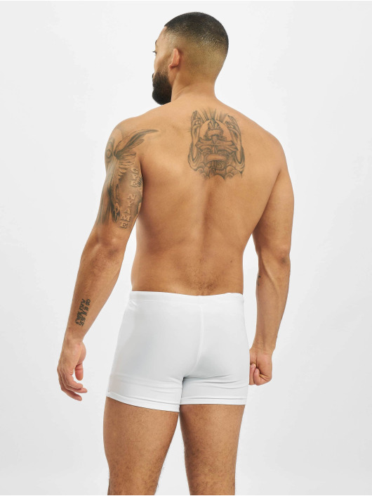 Urban Classics Koupací šortky Basic Swim bílý